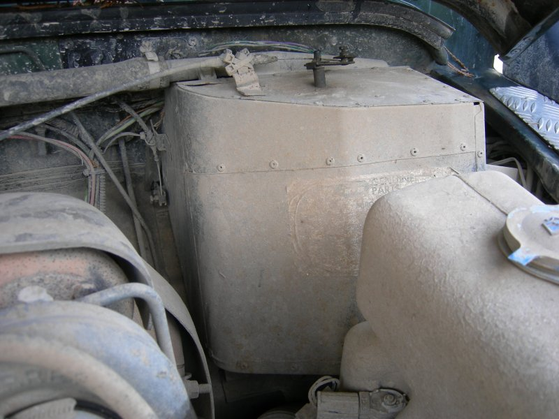 defender heater matrix removal in pictures